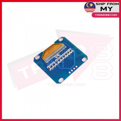 0.96 inches yellow and blue dual color I2C IIC communication 4-pin OLED Display 12864 LCD Module