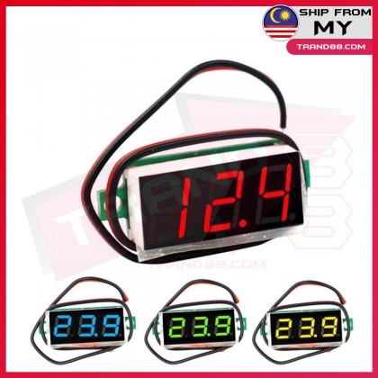0.36 inch Second line precision dc digital voltmeter head LED digital voltmeter DC4.5V-30V