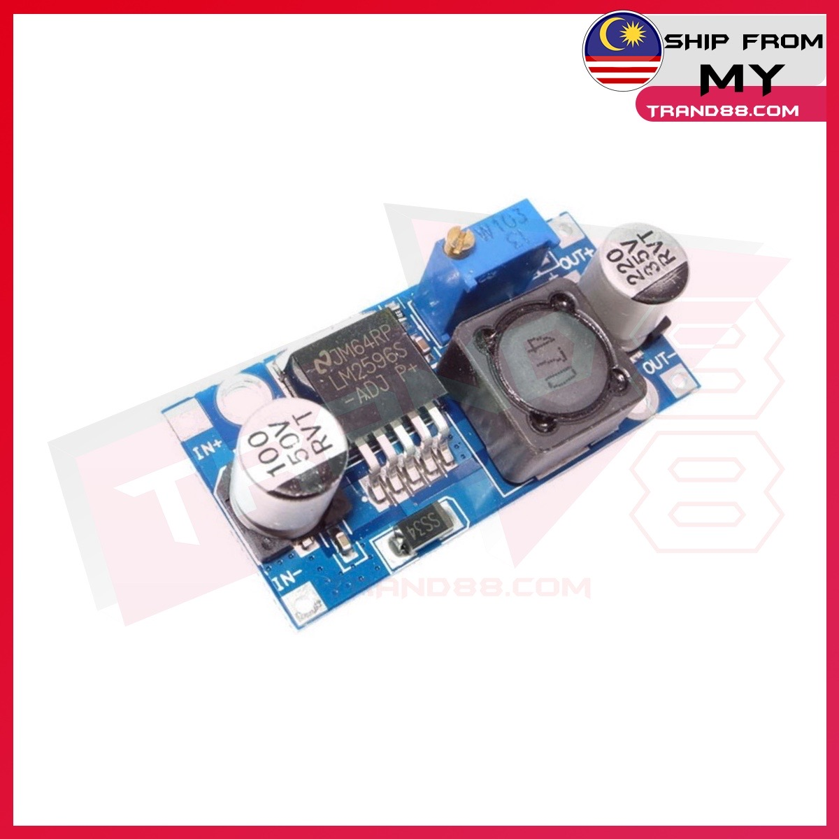 LM2596 LM2596S ADJ Power supply module DC-DC Step-down module adjustable Voltage regulator 3A