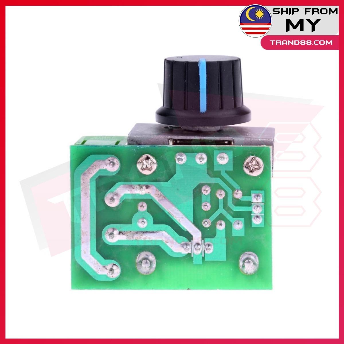 AC 220V 2000W SCR Voltage Regulator Dimming Dimmers Motor Speed Controller Thermostat Electronic Voltage Regulator