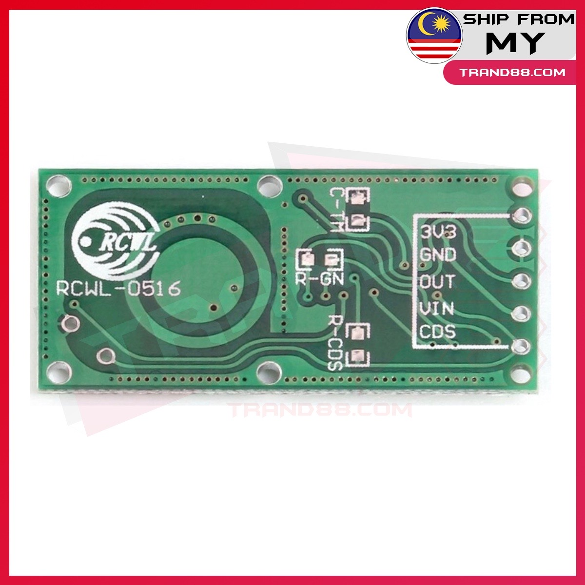 RCWL-0516 Doppler Radar Sensor Motion Detector Microwave Module for Arduino RCWL 0516 RCWL0516 movement sensor