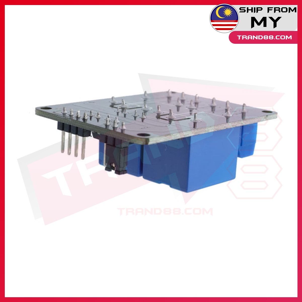 2 way relay module 5V with optical coupler protection relay expansion board MCU development board accessories