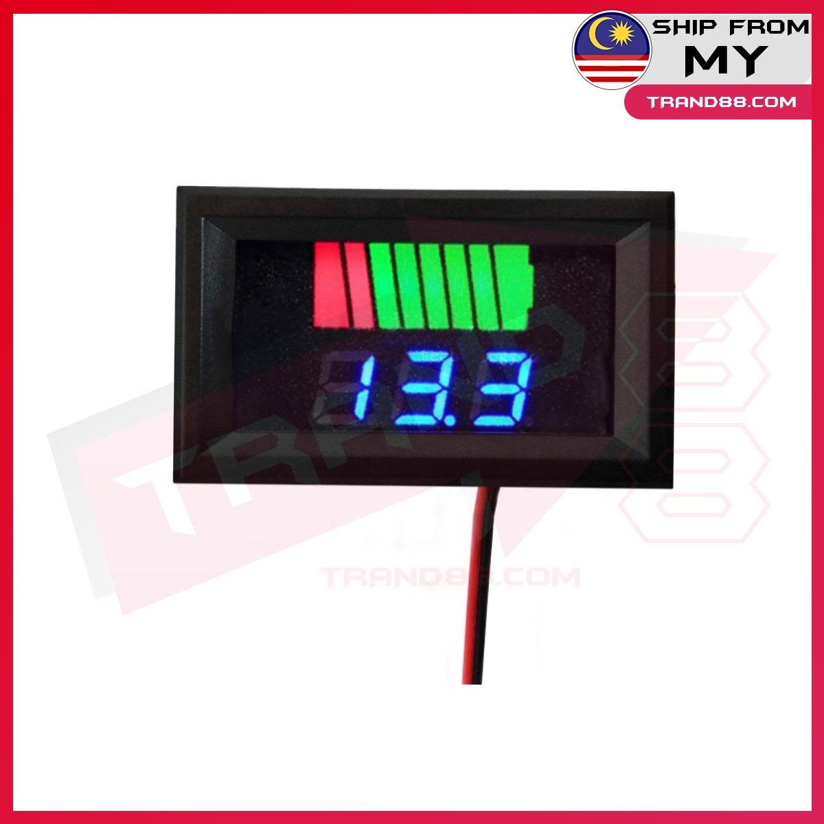 Electric Vehicle Fuel Gauge Lithium Battery Fuel Gauge 12V 24V 36V 48V 60V Universal