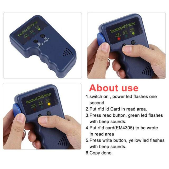 Handheld RFID ID Card Copier Reader Writer